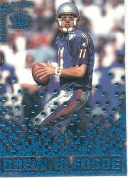1995 Pacific Triple Folders Rookies and Stars Blue #21 Drew Bledsoe