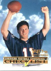 1995 Select Certified Checklists #1 Drew Bledsoe