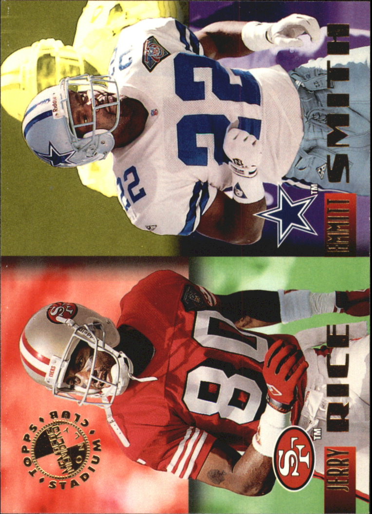 1995 Stadium Club Members Only 50 #45 J.Rice/E.Smith