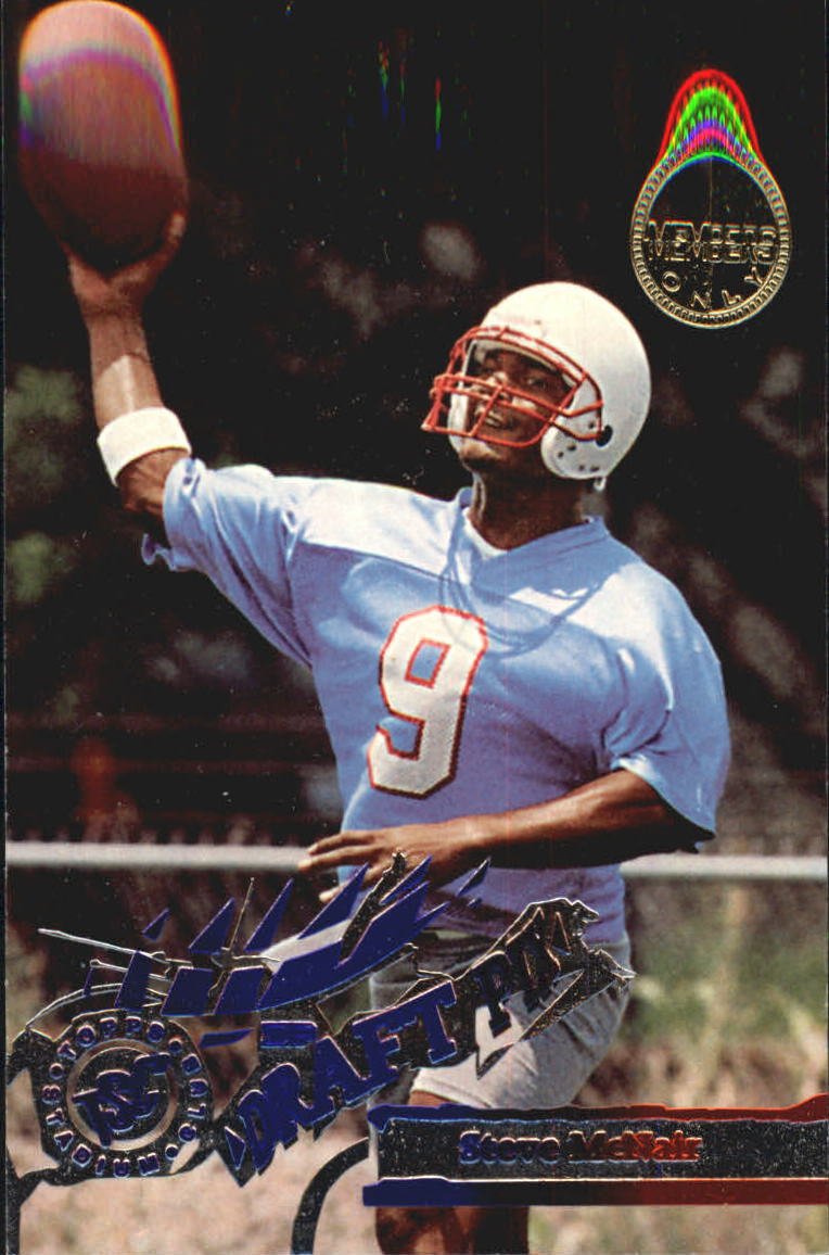 1995 Stadium Club Members Only Parallel #450 Steve McNair