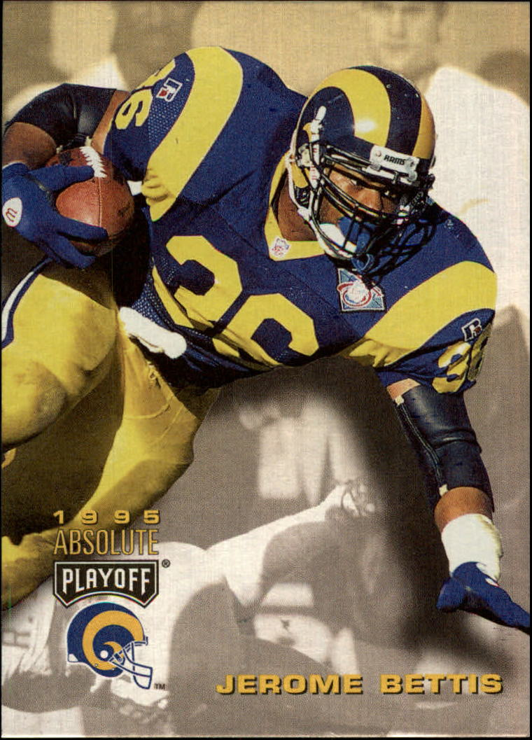 1995 Absolute #6 Jerome Bettis