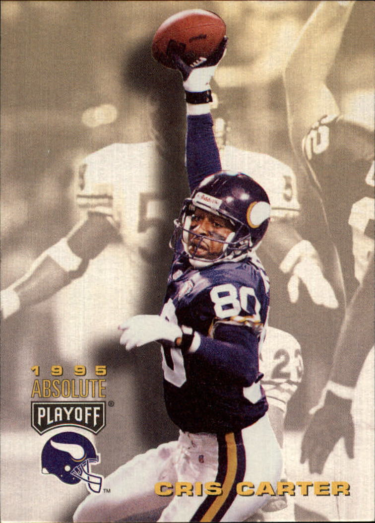 1995 Absolute #96 Cris Carter