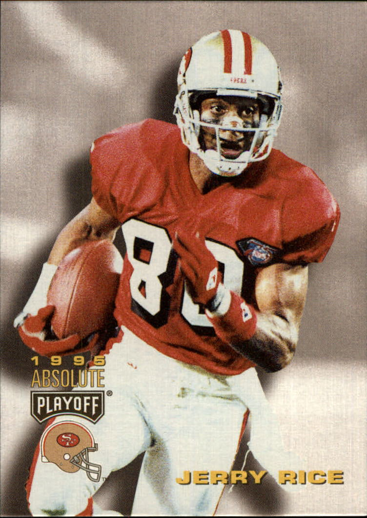 1995 Absolute #100 Jerry Rice