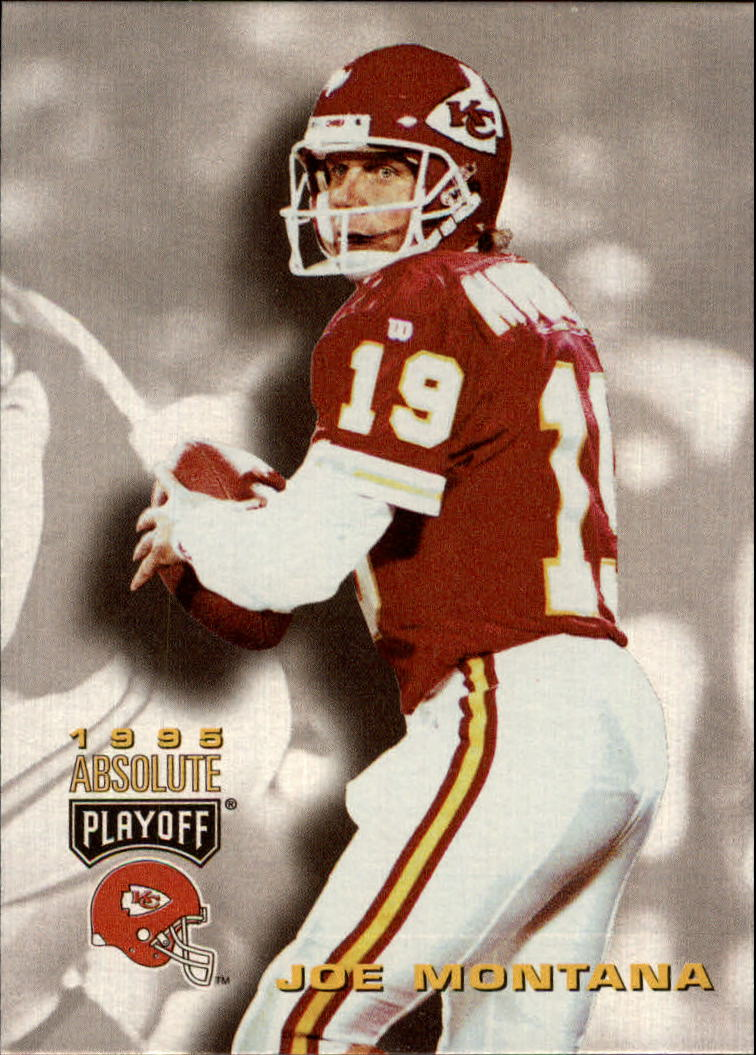 1995 Absolute #153 Joe Montana