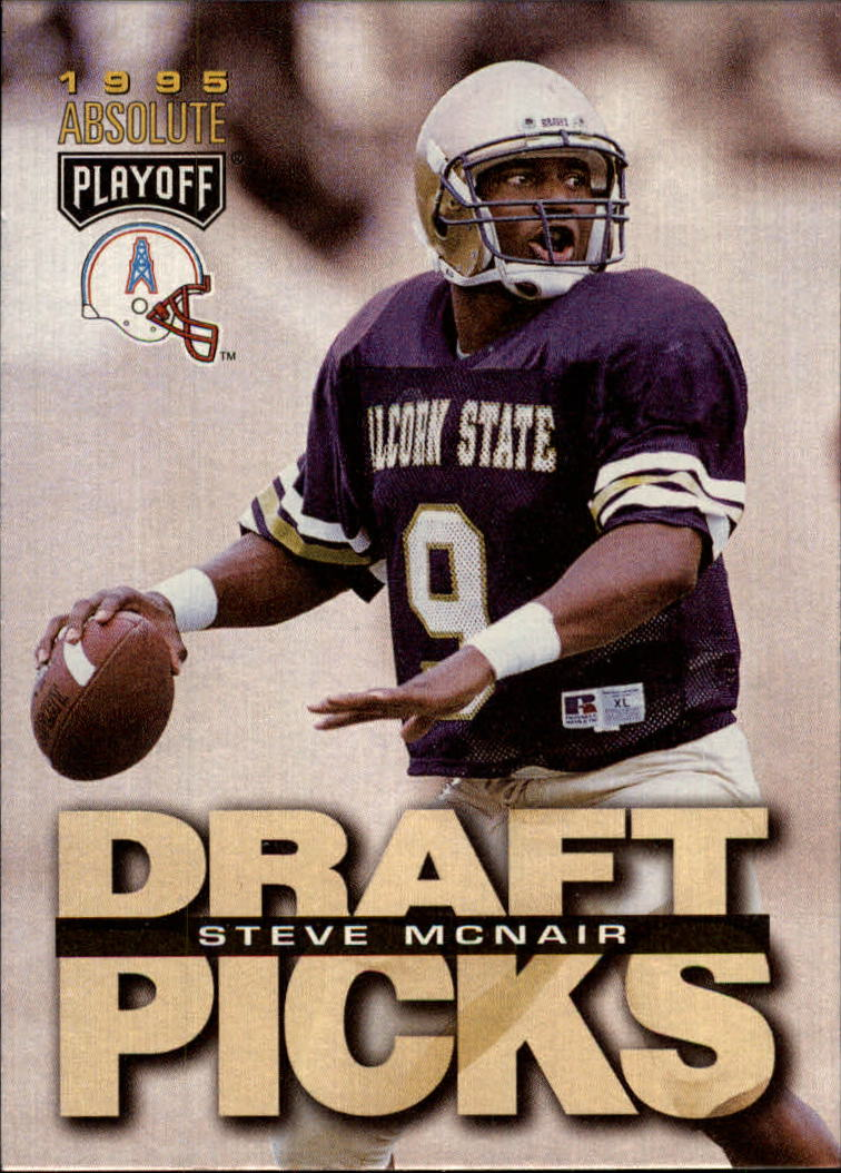 1995 Absolute #182 Steve McNair RC