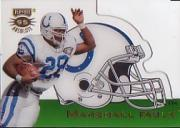 1995 Absolute Die Cut Helmets #7 Marshall Faulk