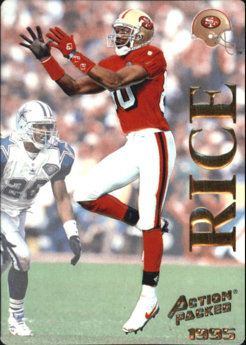 1995 Action Packed #1 Jerry Rice
