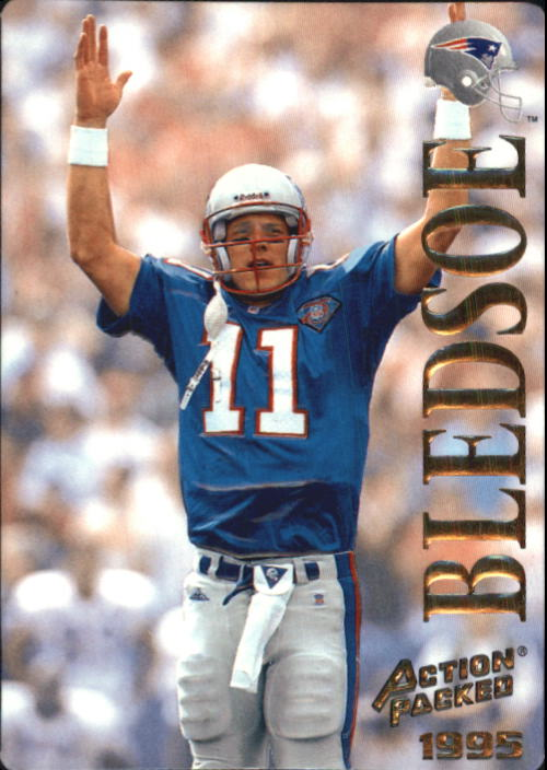 1995 Action Packed #3 Drew Bledsoe
