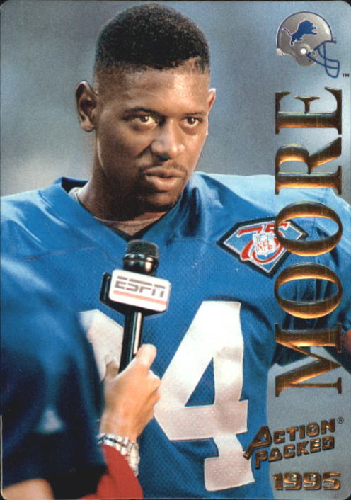 1995 Action Packed #7 Herman Moore