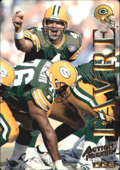 1995 Action Packed #15 Brett Favre