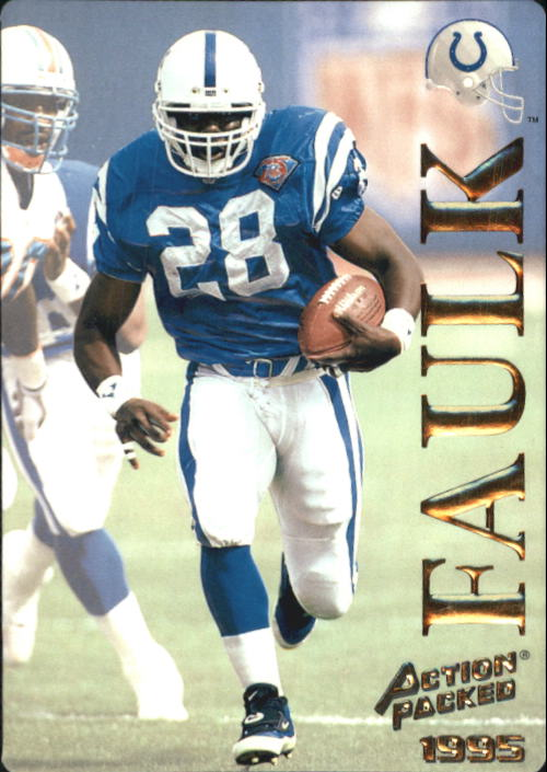1995 Action Packed #16 Marshall Faulk
