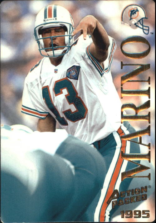 1995 Action Packed #21 Dan Marino