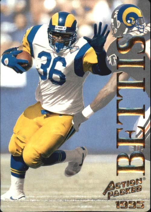 1995 Action Packed #27 Jerome Bettis