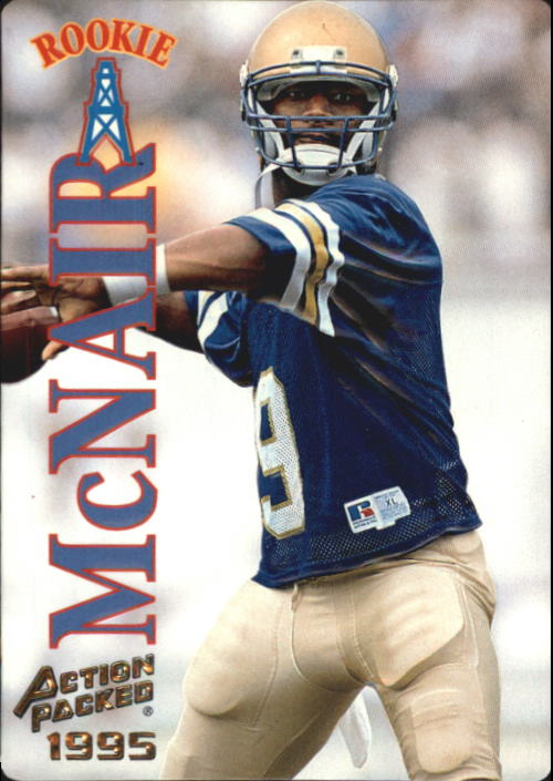 1995 Action Packed #36 Steve McNair RC