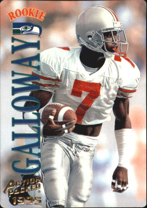1995 Action Packed #38 Joey Galloway RC