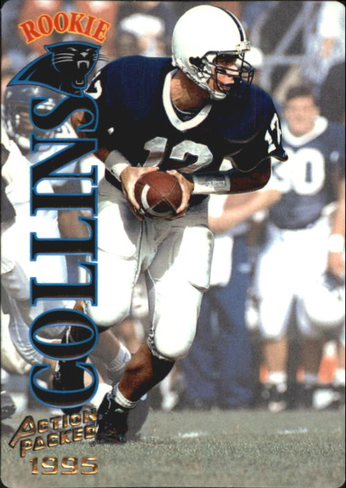 1995 Action Packed #41 Kerry Collins RC