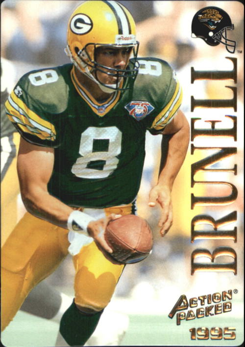 1995 Action Packed #59 Mark Brunell