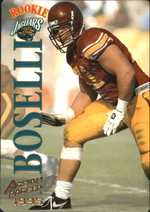 1995 Action Packed #105 Tony Boselli RC
