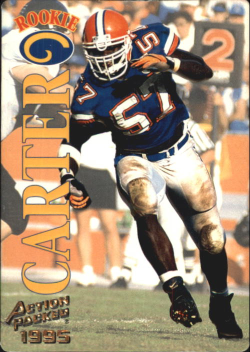 1995 Action Packed #108 Kevin Carter RC