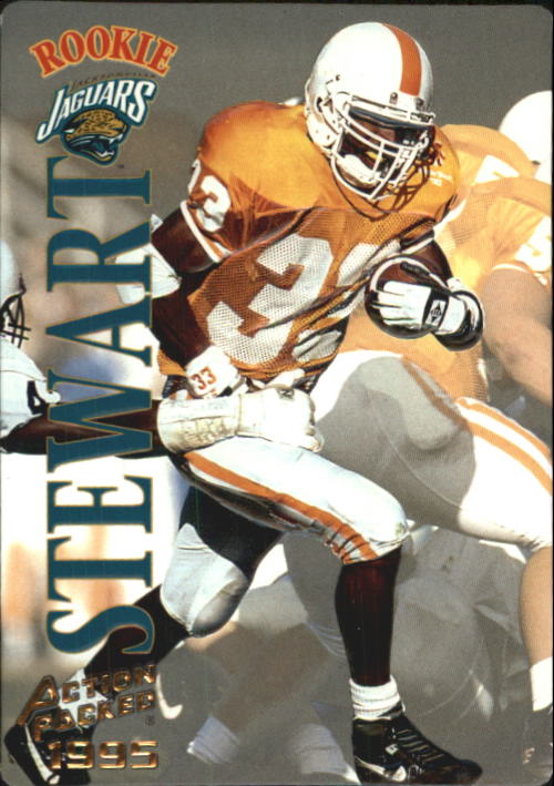1995 Action Packed #118 James O. Stewart RC