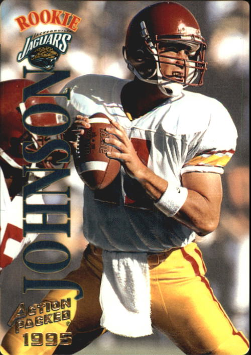 1995 Action Packed #121 Rob Johnson RC