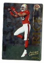 1995 Action Packed Quick Silver #1 Jerry Rice