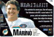 1995 Action Packed 24K Gold #13G Dan Marino back image