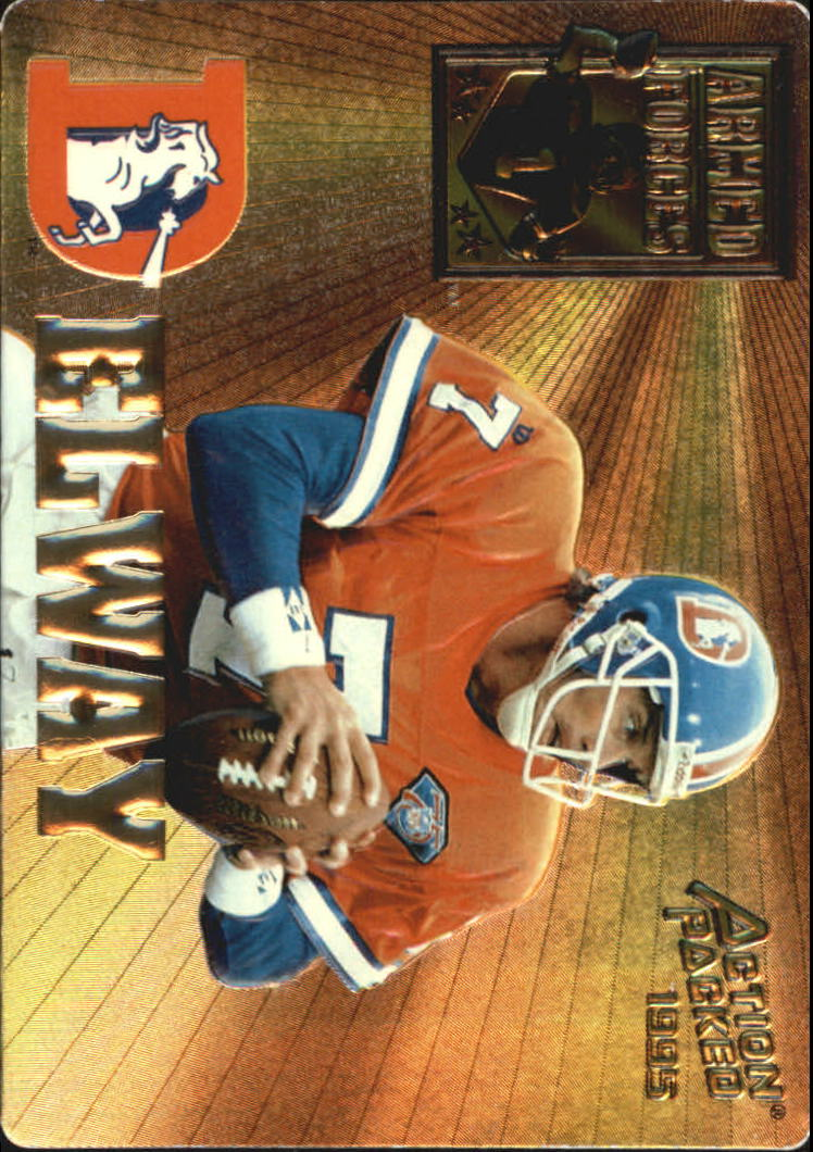 1995 Action Packed Armed Forces #AF9 John Elway