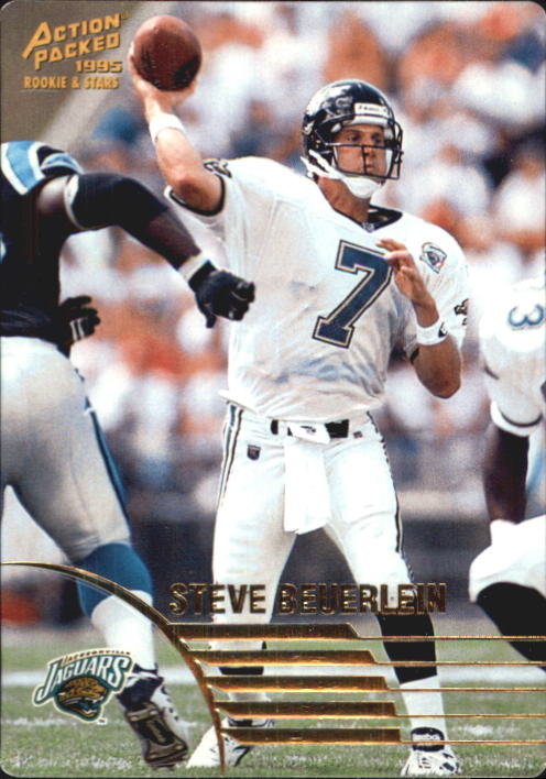 1995 Action Packed Rookies/Stars #4 Steve Beuerlein