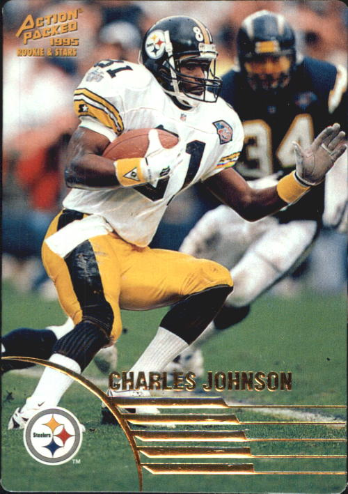 1995 Action Packed Rookies/Stars #21 Charles Johnson