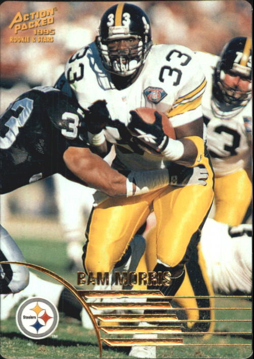 1995 Action Packed Rookies/Stars #33 Byron Bam Morris