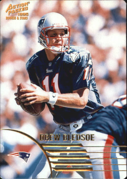 1995 Action Packed Rookies/Stars #48 Drew Bledsoe