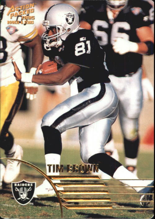 1995 Action Packed Rookies/Stars #59 Tim Brown