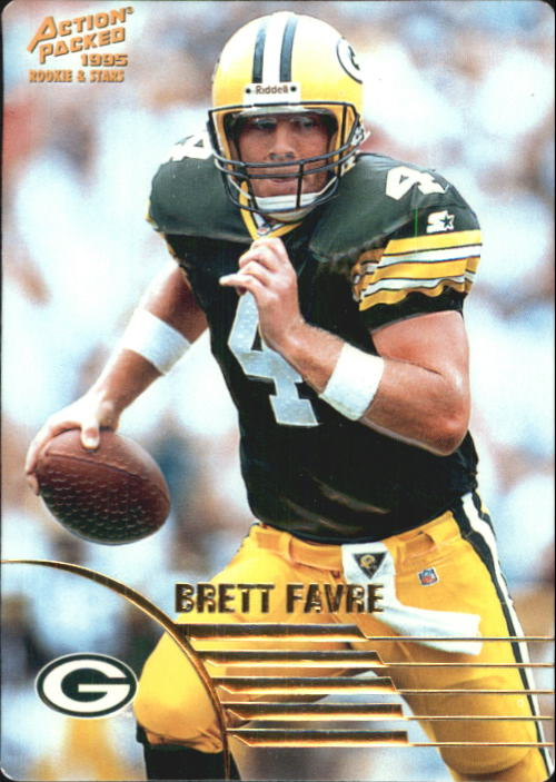 1995 Action Packed Rookies/Stars #60 Brett Favre