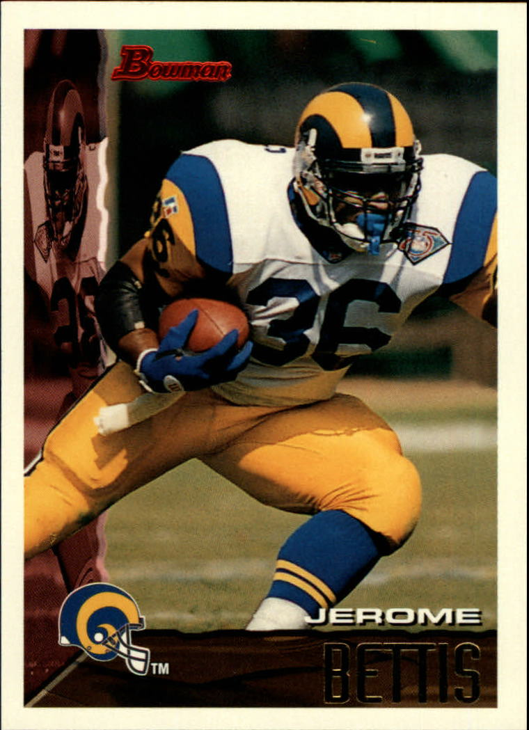 1995 Bowman #260 Jerome Bettis