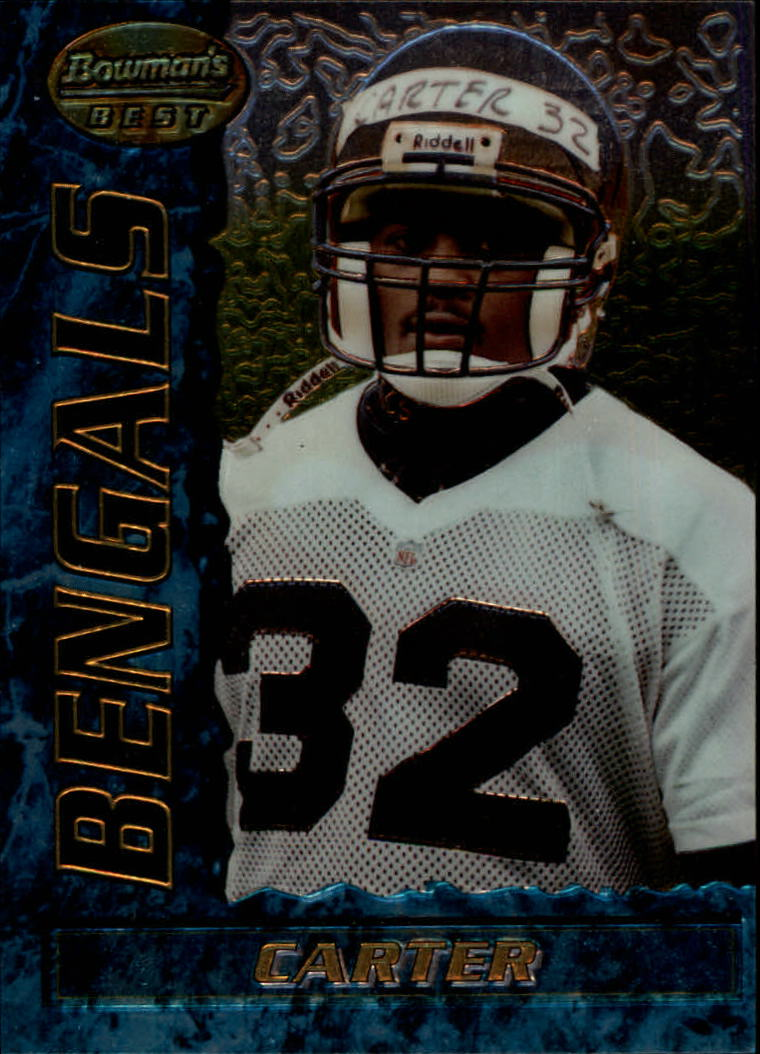 1995 Bowman's Best #R1 Ki-Jana Carter RC