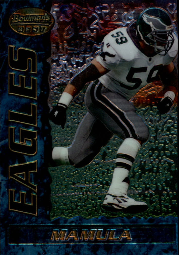 1995 Bowman's Best #R7 Mike Mamula RC