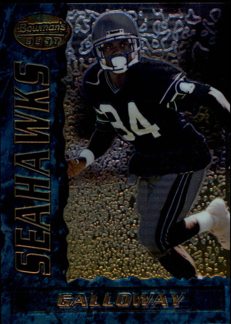 1995 Bowman's Best #R8 Joey Galloway RC