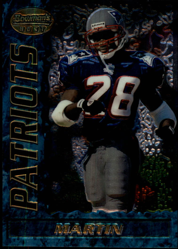 1995 Bowman's Best #R74 Curtis Martin RC