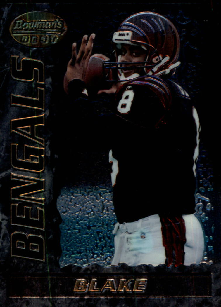 1995 Bowman's Best #V6 Jeff Blake RC
