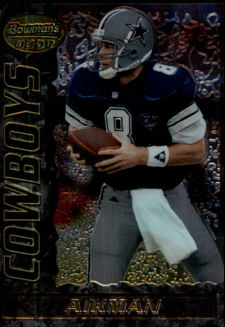 1995 Bowman's Best #V8 Troy Aikman