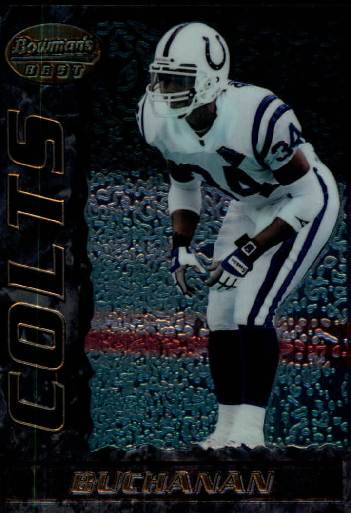 1995 Bowman's Best #V13 Ray Buchanan