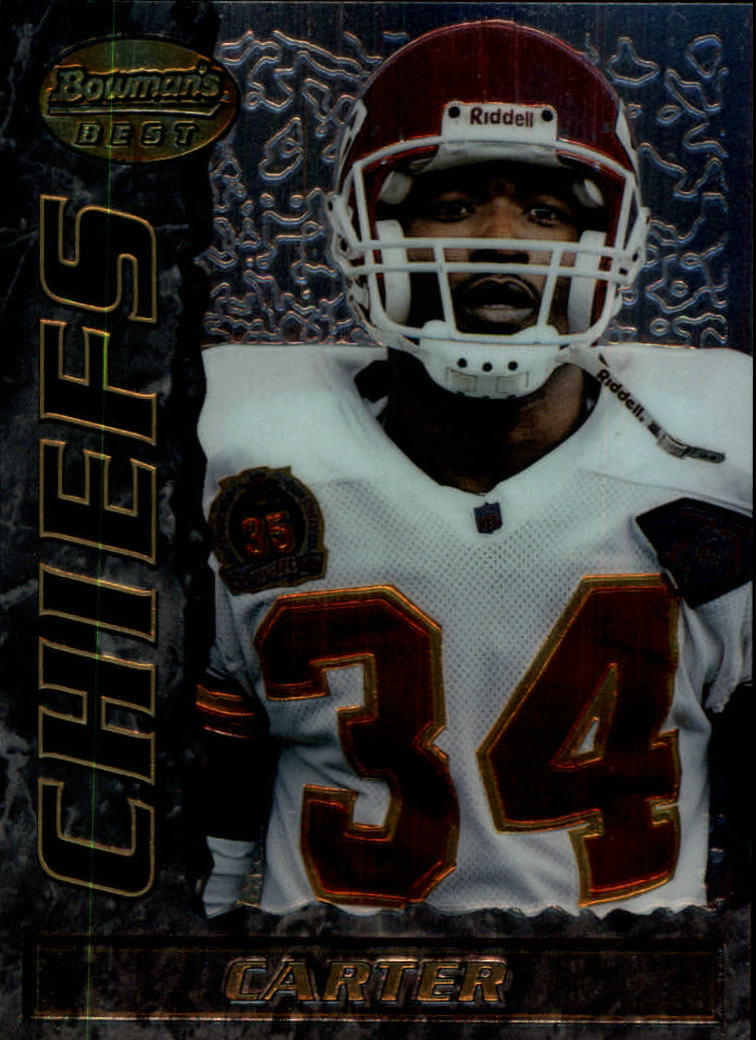 1995 Bowman's Best #V15 Dale Carter