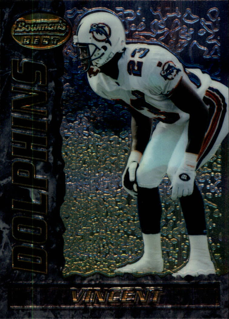 1995 Bowman's Best #V16 Troy Vincent
