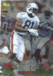 1995 Classic NFL Rookies Printer's Proofs #45 Frank Sanders