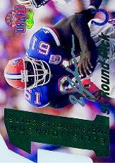 1995 Classic NFL Rookies Die Cuts Silver Signatures #15 Ellis Johnson