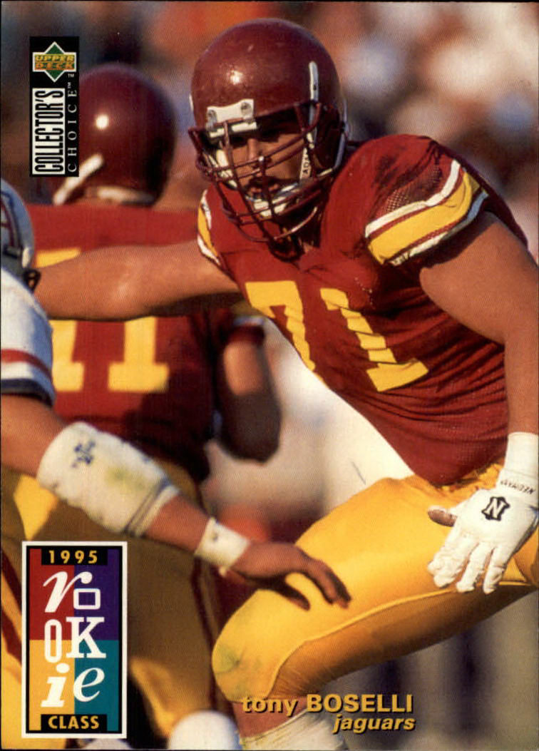 1995 Collector's Choice #2 Tony Boselli RC