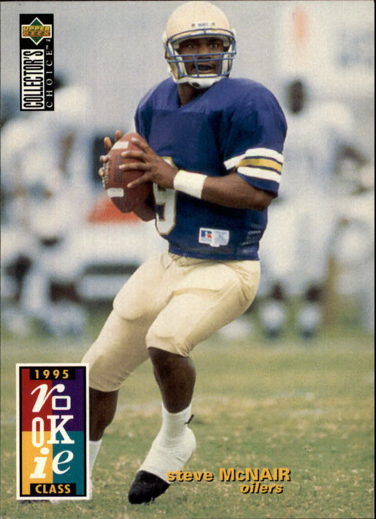 1995 Collector's Choice #3 Steve McNair RC