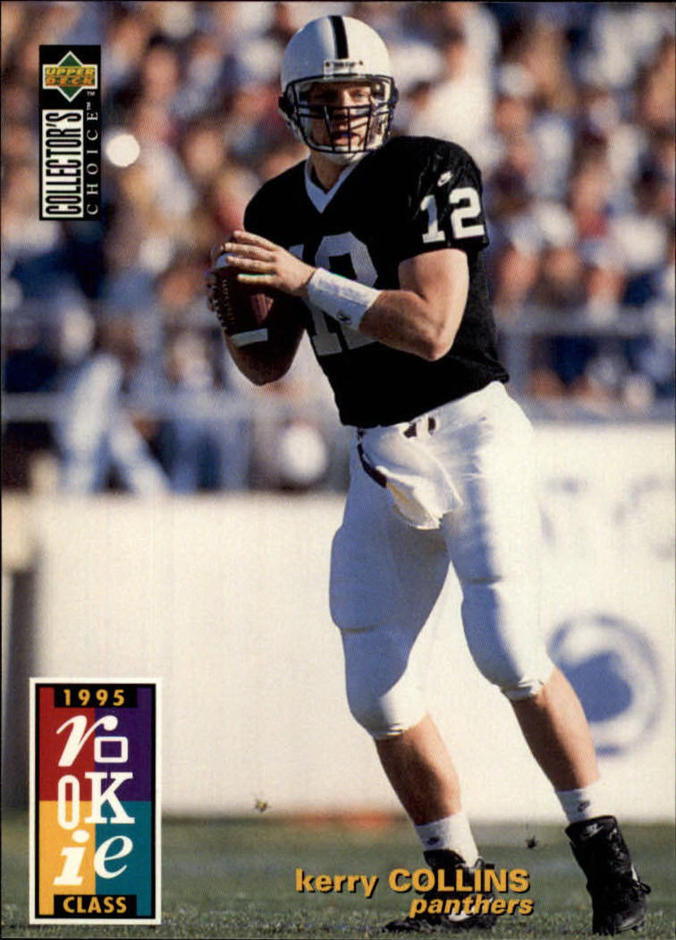 1995 Collector's Choice #5 Kerry Collins RC
