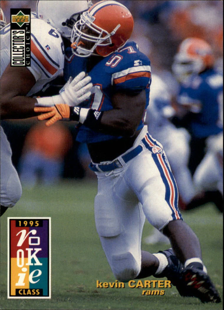 1995 Collector's Choice #6 Kevin Carter RC